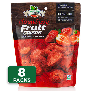 Freeze Dried Strawberries 8-pack
