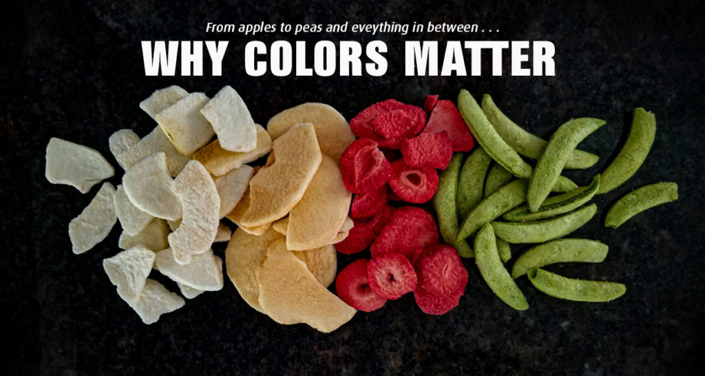 WHY COLOR MATTERS